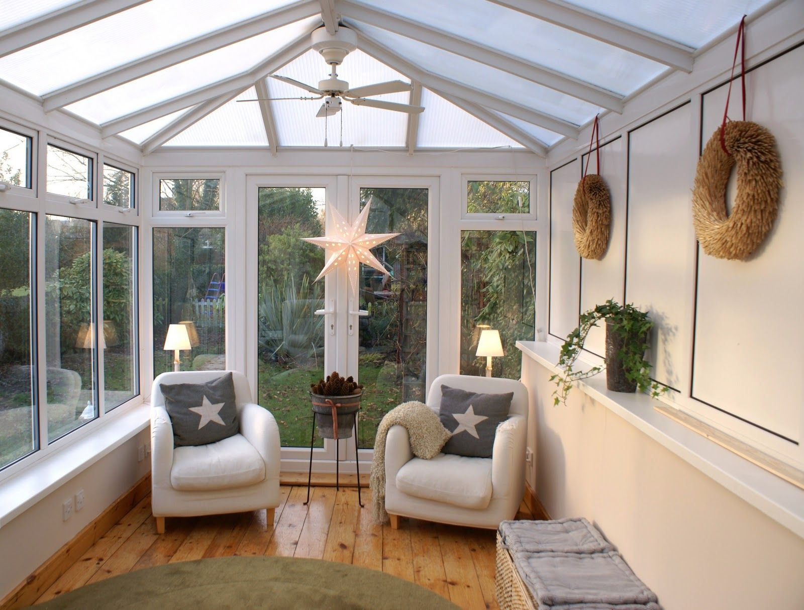 conservatory lighting ideas. The Swenglish Home. Conservatory Ideas Lighting Y