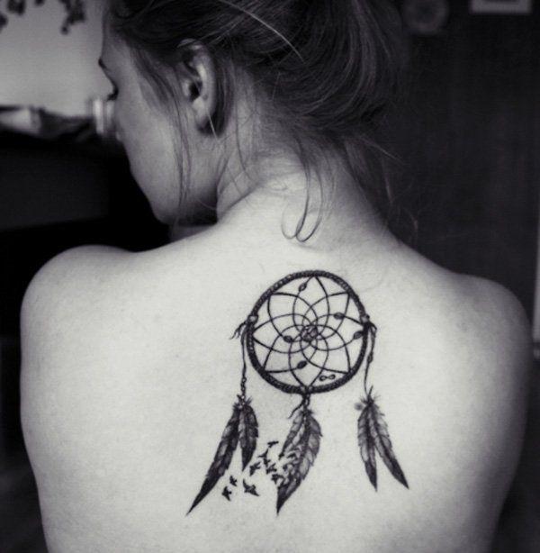 Black And White Dreamcatcher Tattoo  Dreamcatcher Tattoo Designs For Women