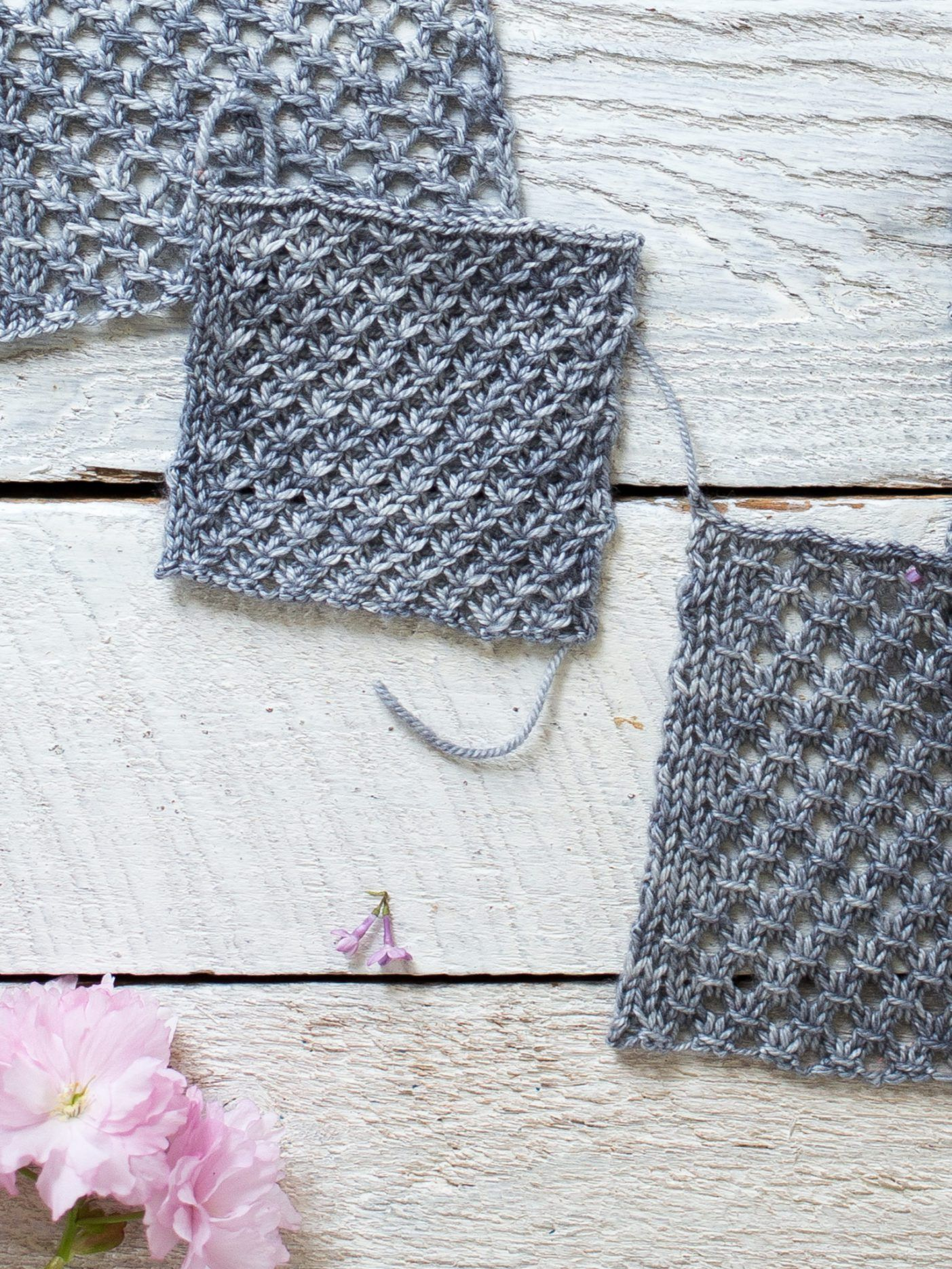 How To Make An Easy Lace Knit Shawl Pattern   knitting instructions ...