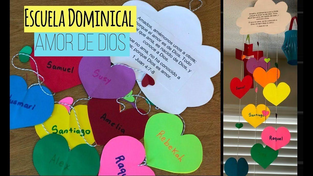 Manualidades para la Escuela Dominical/El amor de Dios y