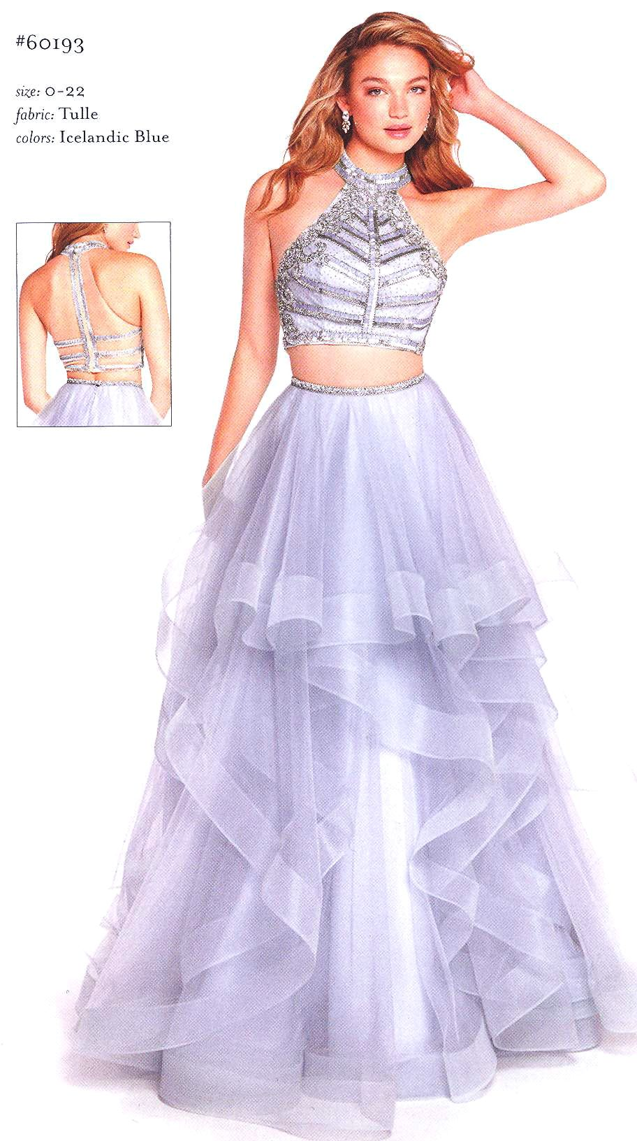 Prom Dresses Evening Dresses by ALYCE PARIS<BR>aay60193<BR>Two piece ...