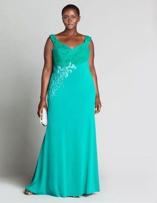 Abendkleider - Extravagante Abendkleider in großen Größen ...