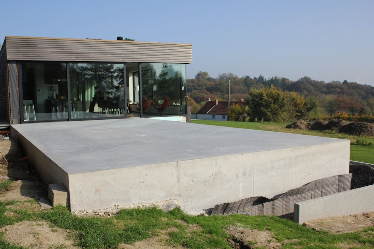 terrasses amp piscines extradal b233ton poli a lire