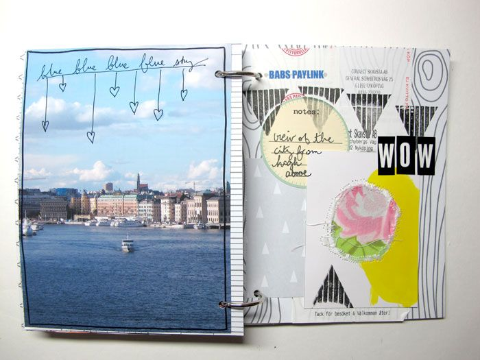 My Not So White Space Stockholm Album Travel Journals