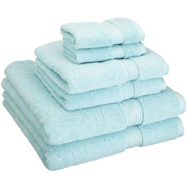 Superior 6 Piece Egyptian Cotton Towel Set Color: Sea Foam (€36) ❤ liked on Polyvore featuring home, bed & bath, bath, bath towels, bathroom, furniture, other, egyptian cotton towel set, seafoam bath towels and egyptian cotton bath towels