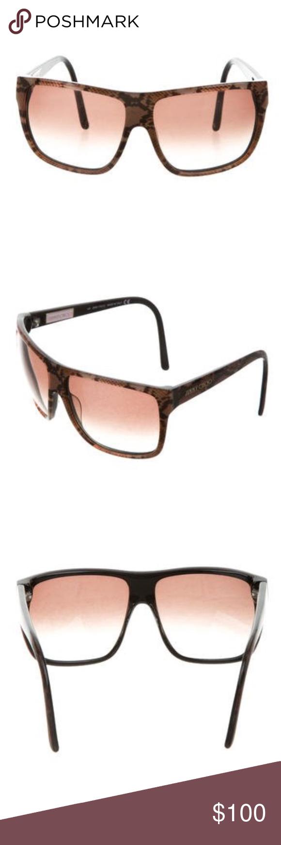 "7f5d9bf7034 Spotted while shopping on Poshmark  Jimmy Choo ""Roxanne"" Sunglasses!   poshmark  fashion  shopping  style  Jimmy Choo  Accessories"