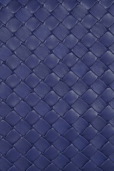 Women S Blue Large Veneta Intrecciato Leather Shoulder Bag
