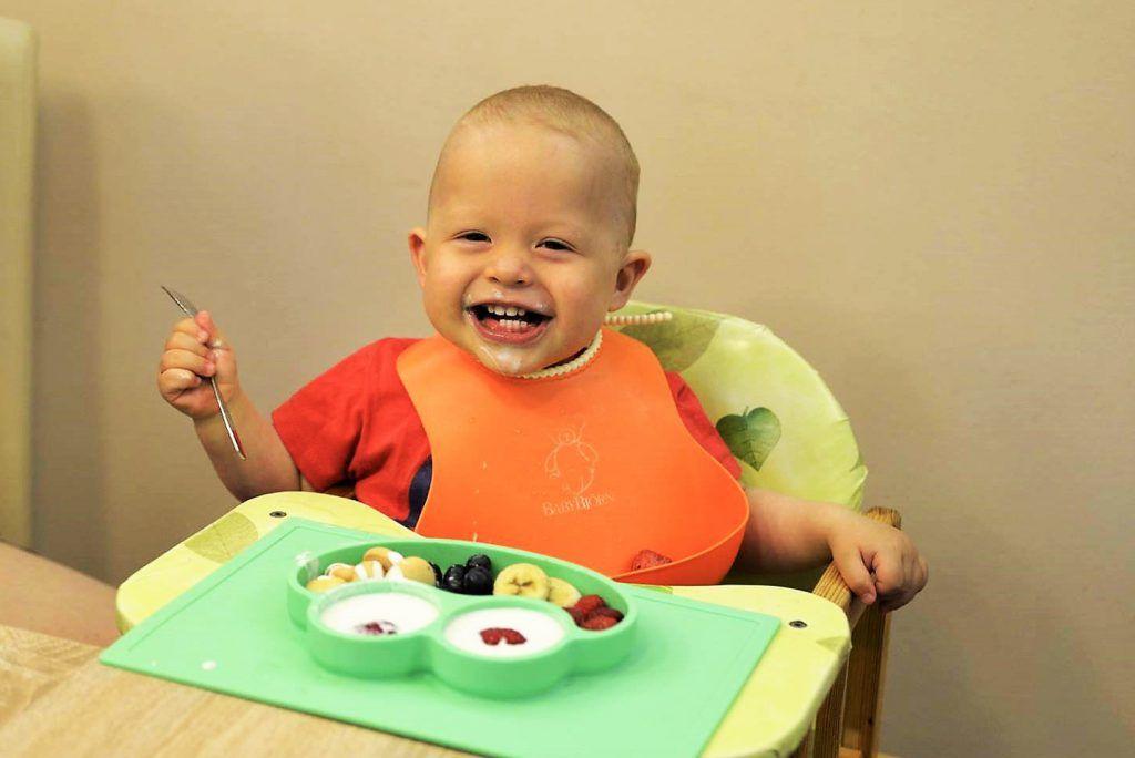 Nová jídelní podložka, kterou chceme nabídnout i dalším dětem.