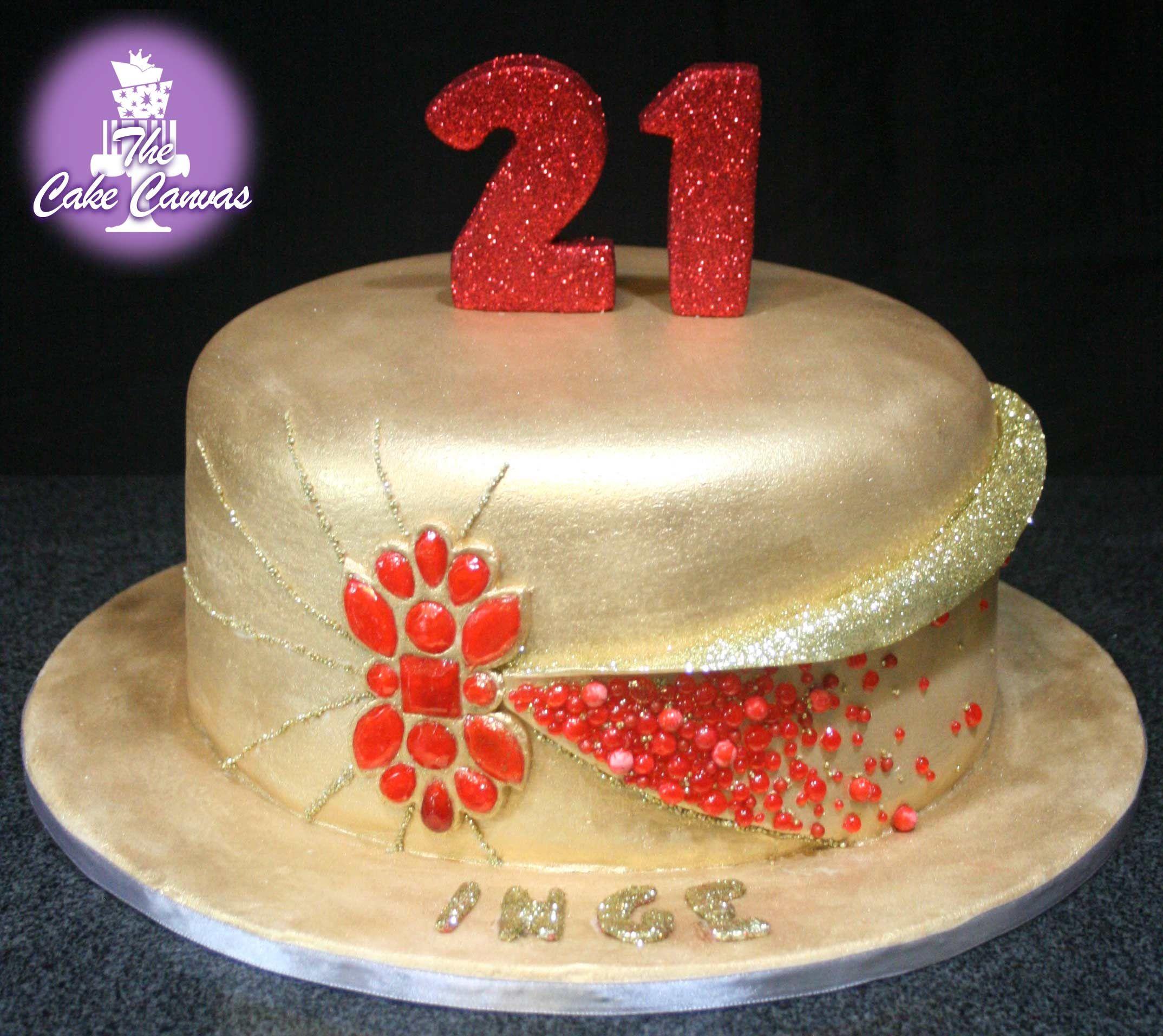 Jewel Birthday cake - Vanilla cake with Amarula Buttercream | The ...