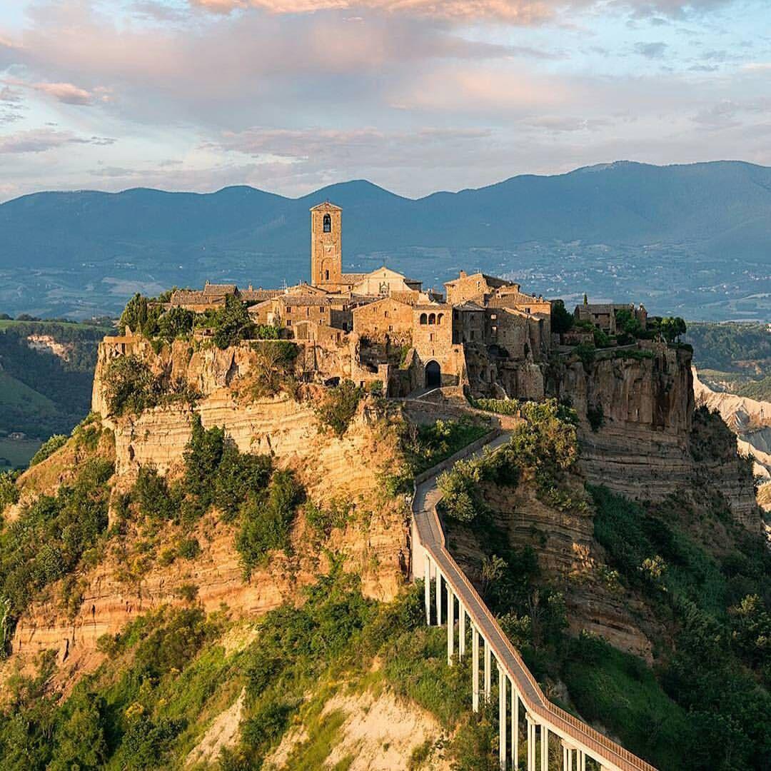 Civita Di Bagnoregio Beach Honeymoon Destinations Italy Tourism