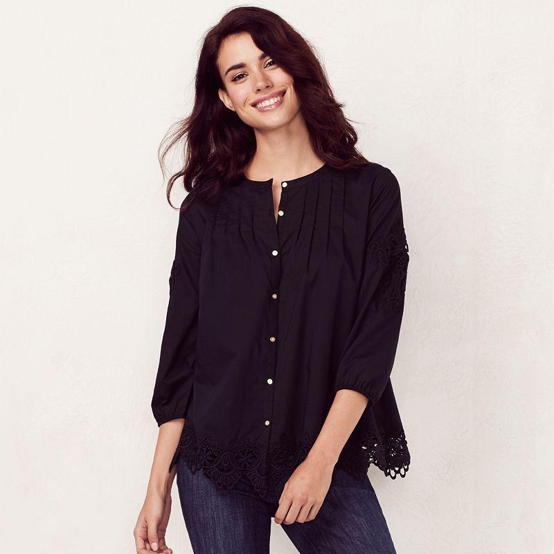 Womens LC Lauren Conrad Regular Shirts & Blouses - Tops