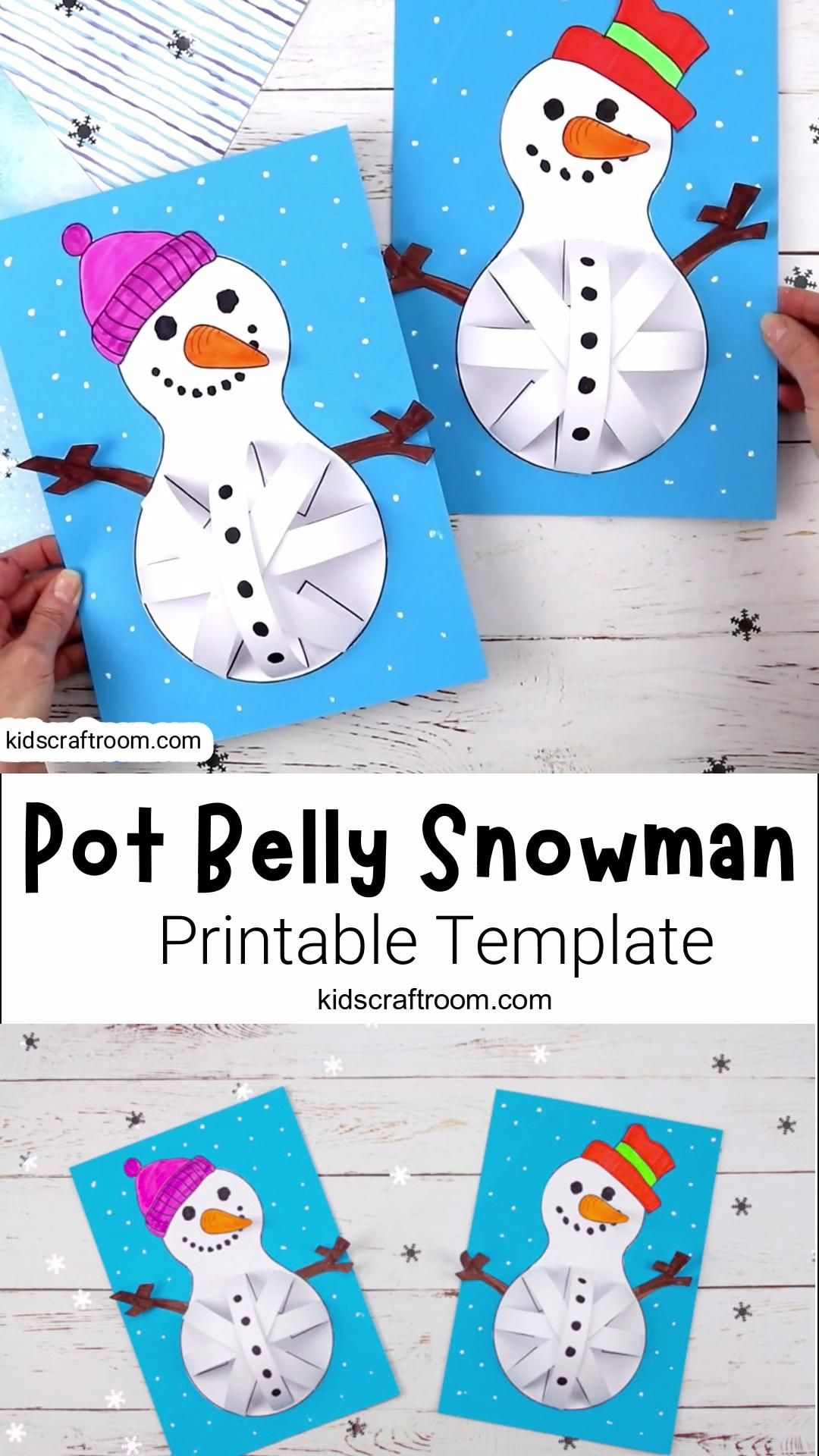 Photo of Pot Belly Snowman Craft