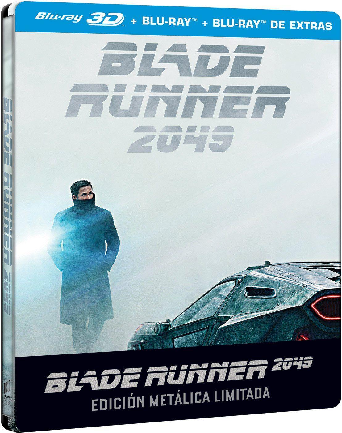 Blade Runner 2049 Bd 3d Bd Bd Extras Edici N Especial Metal Limitada Blu Ray Bd Extras Blade Runner Blade Runner Gran Tiburón Blanco Dvd