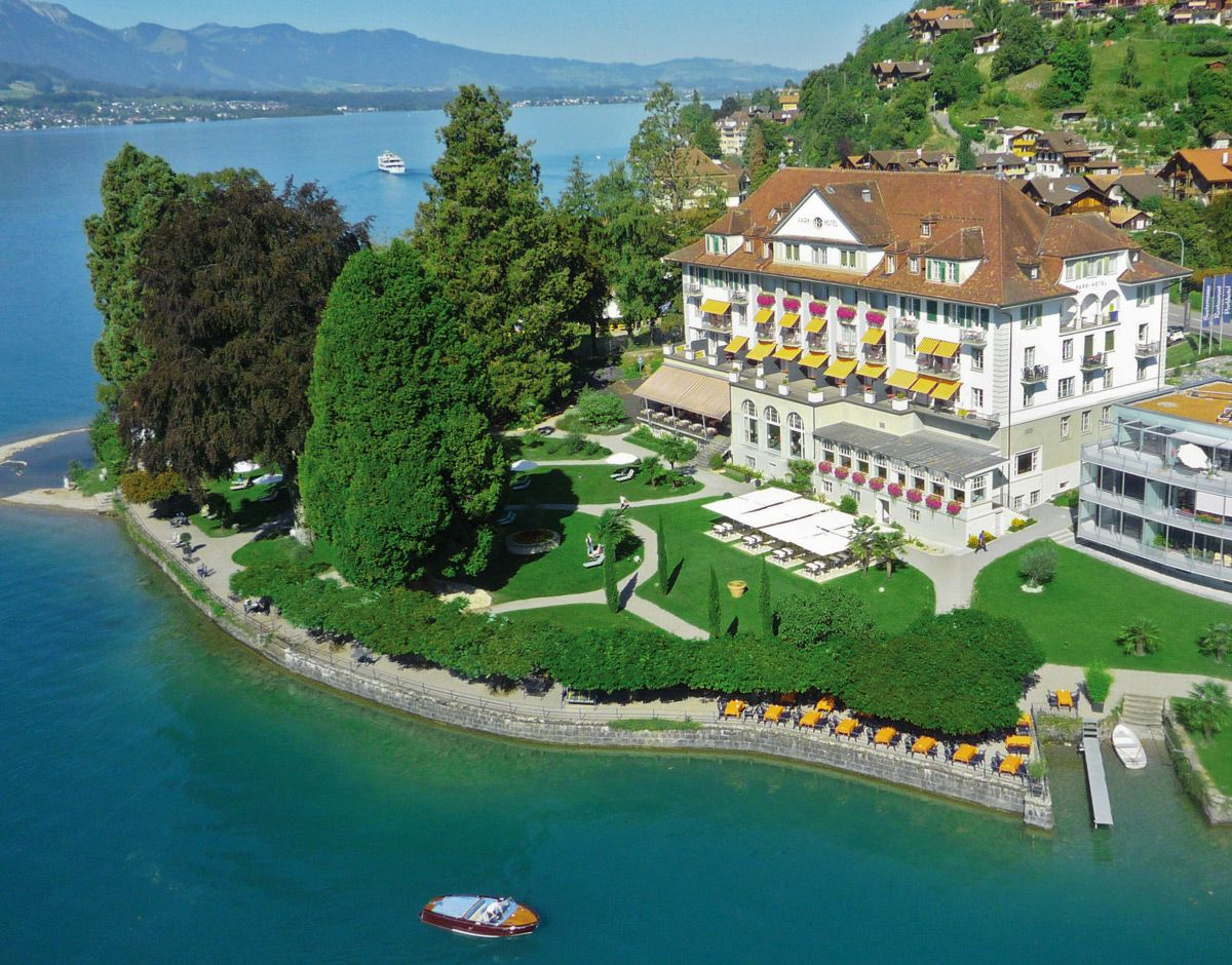 VCH-Hotel Parkhotel Gunten, Gunten, Thunersee, Berner Oberland, Schweiz / Switzerland. www.vch.ch/parkhotel/