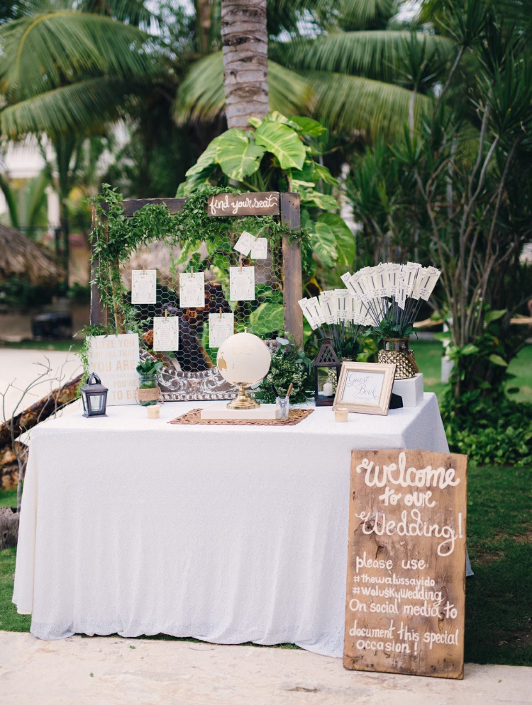 Wedding Sign In Table Decorations Fair Inventive Wedding Signs To Decorate Your Venue  Card Basket Decorating Design