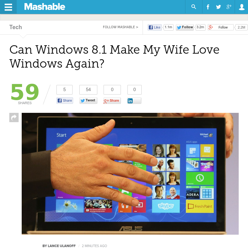 Httpmashable20130530can windows 8 1 make us happy can explore my wife project free and more sciox Choice Image