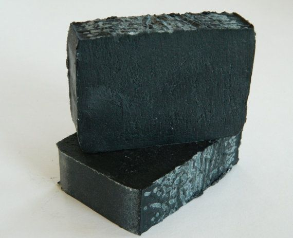 Activated Bamboo Charcoal with Lavender & Peppermint Vegan Soap