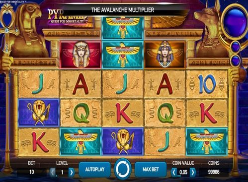 PYRAMID QUEST FOR IMMORTALITY ИГРОВОЙ АВТОМАТ BOOK OF RA