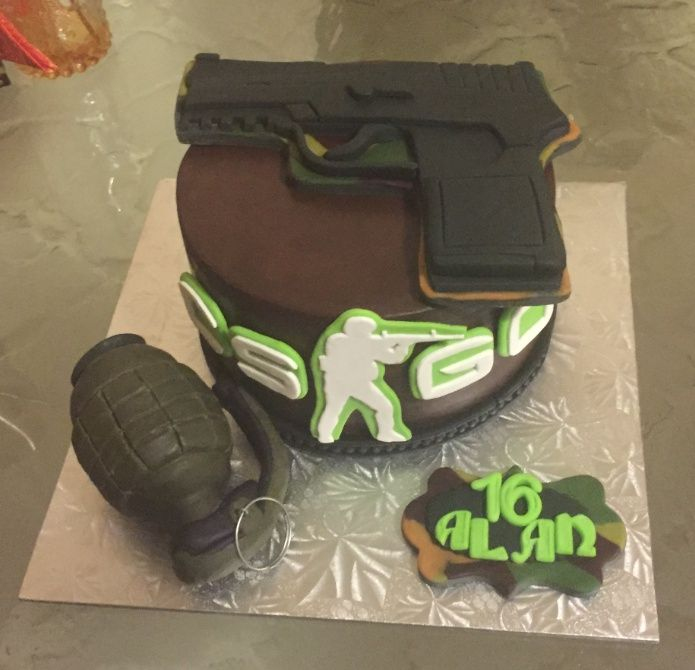 Look At My Sick Csgo Cake Games Globaloffensive Csgo