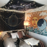 Sun & Moon Tapestry images