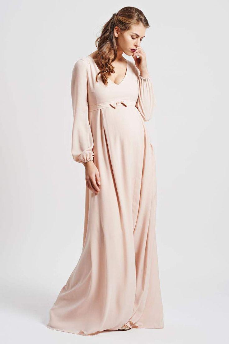 Romantisches Umstandskleid mit Schleife | Pinterest | Umstandskleid ...