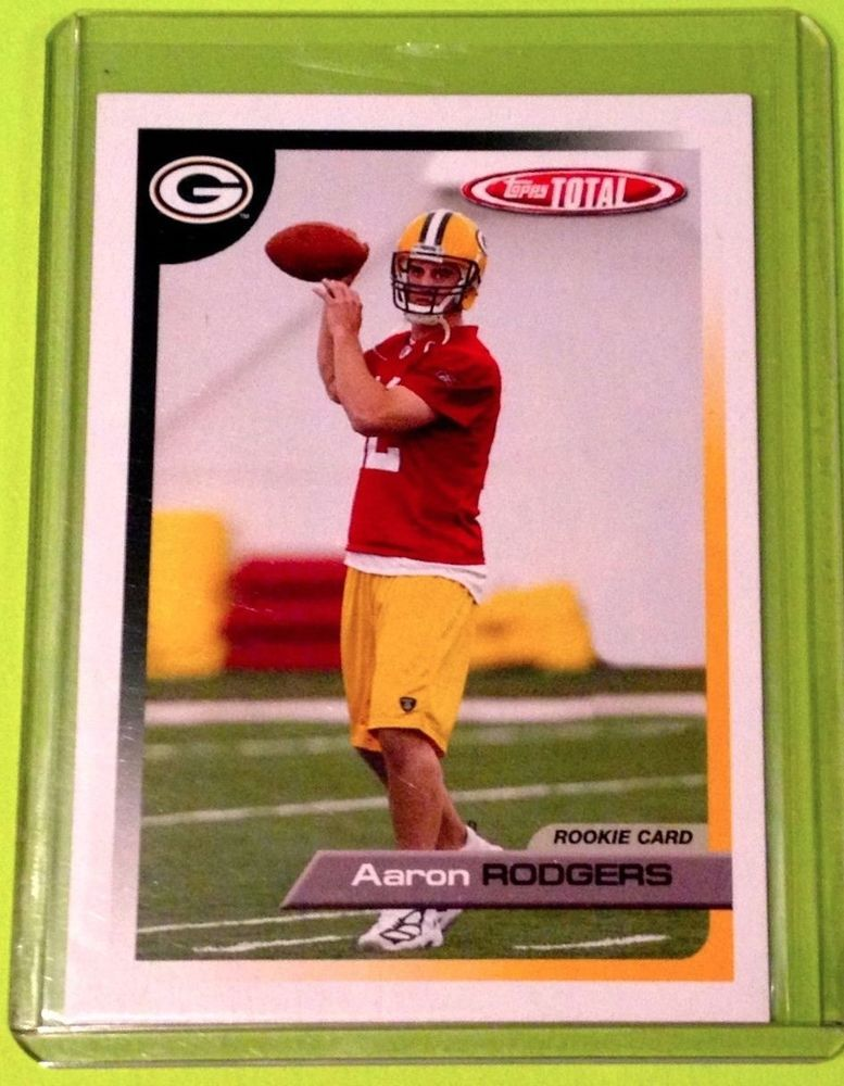 Aaron rodgers 05 score rc packers aaron rodgers