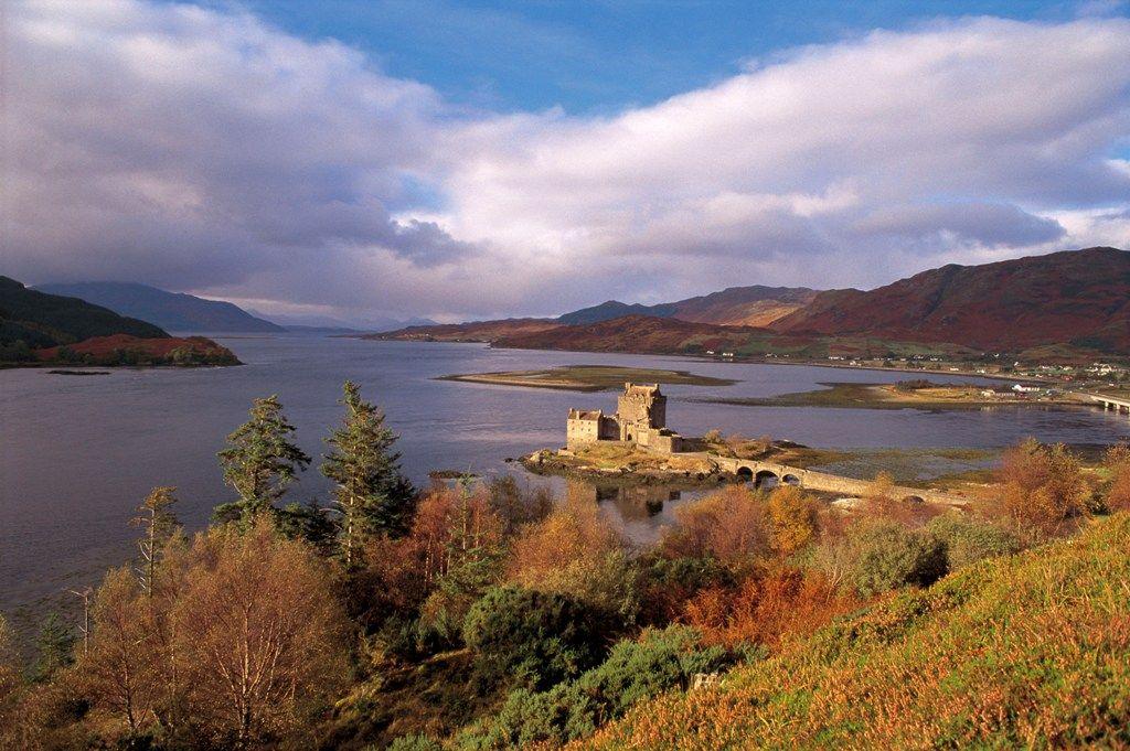 Château Eilean Donan, proche de Skye - Ecosse