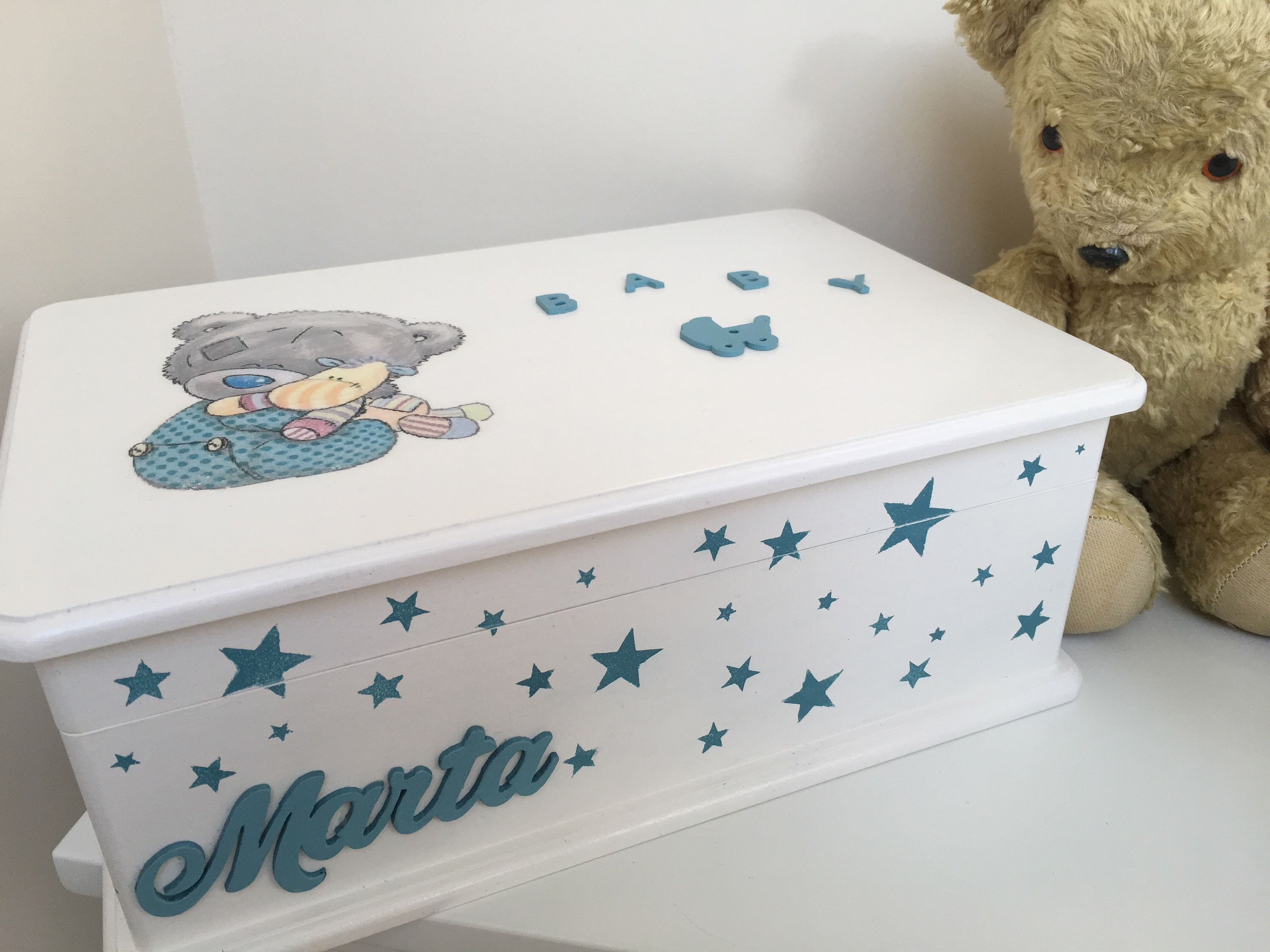 Babys first memory box personalized baby box baby