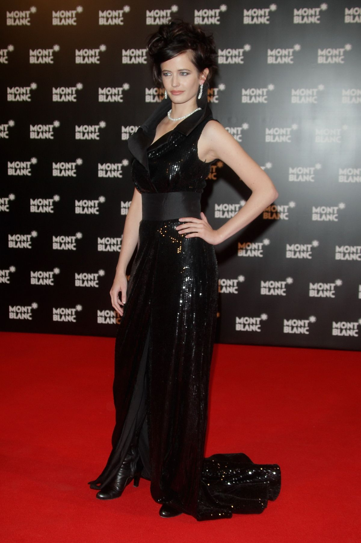 Roter Teppich Vip Red Carpet Eva Green Montblanc Vip Charity Gala At The Monte Carlo Sporting