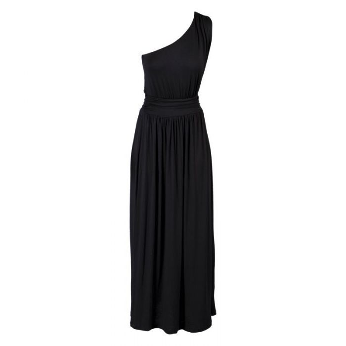 if shorter, would be the perfect black bridesmaid dress for @Alex Jones Jones McCurdy 's wedding