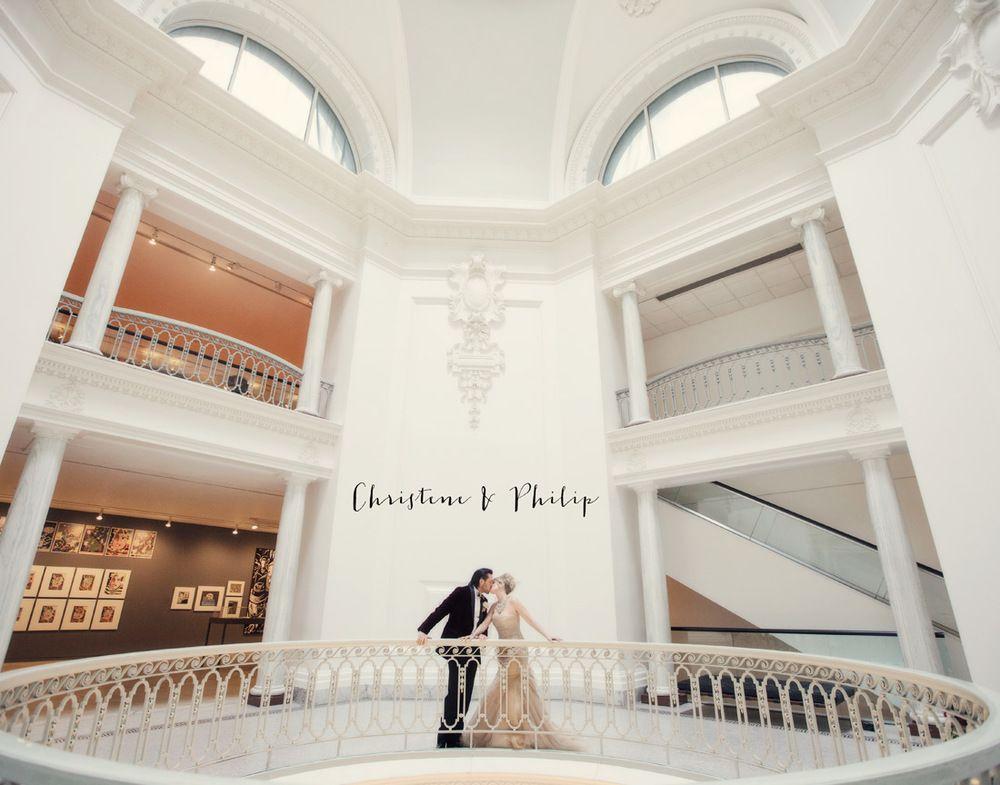 Christene Philips Vancouver Art Gallery Wedding Photographers