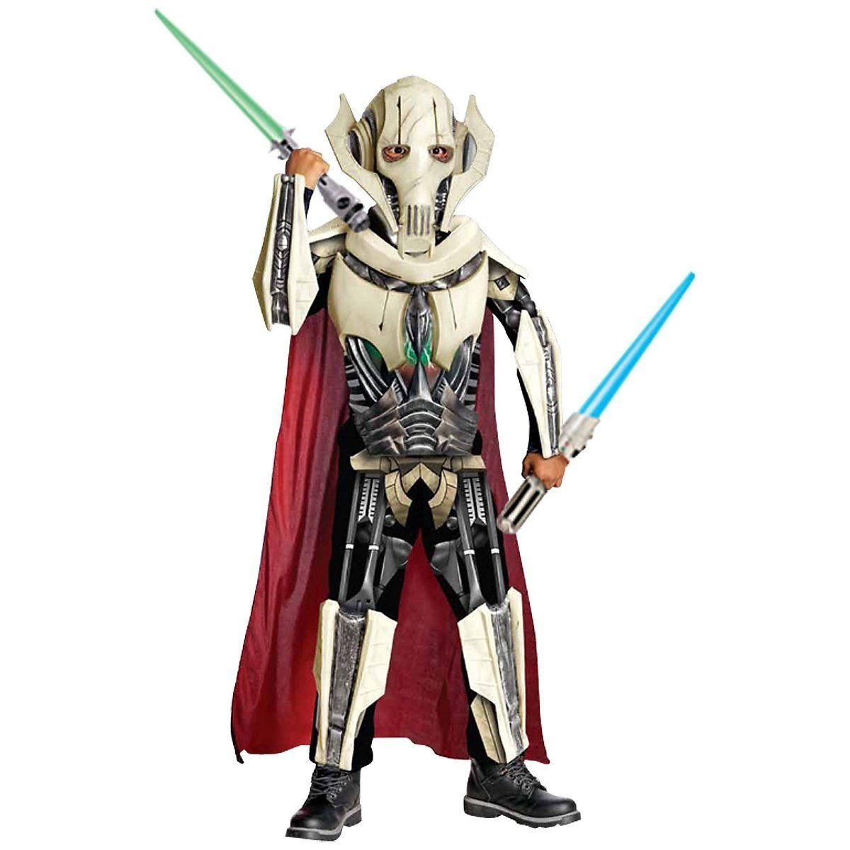 Rubies Costume Co R884521 M Jungen Deluxe Star Wars General Grievous Kost M Medium Amazon De Baby Star Wars Halloween Kinder Kostum Halloween Kinderkostume