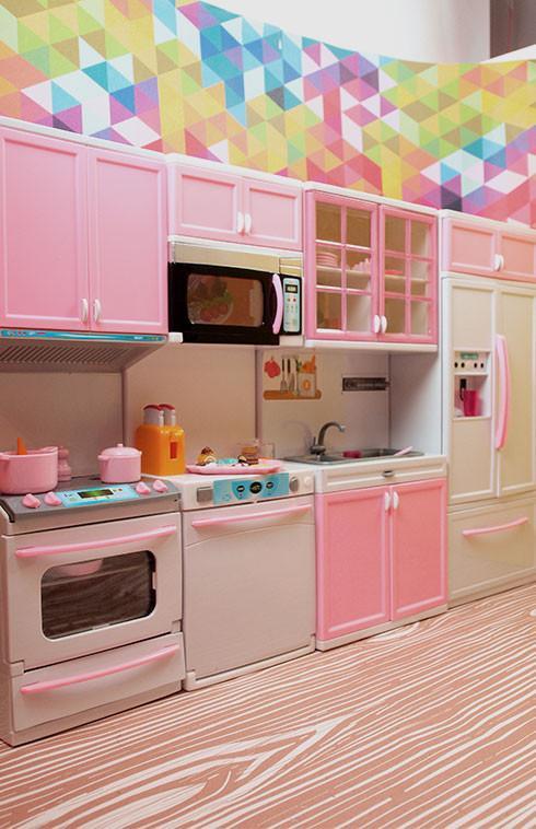 Barbie 4 Piece Vogue Modern Kitchen Set Barbie Stuff To Buy