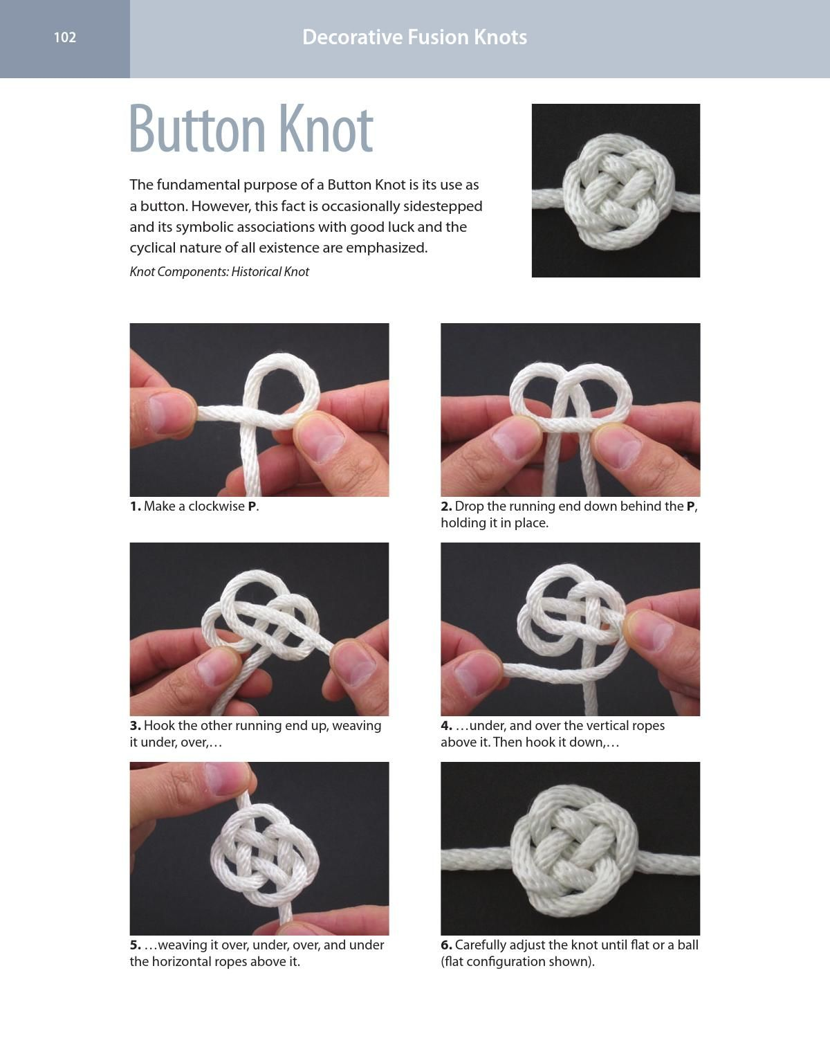 Decorative Fusion Knots J D Lenzen With Images Macrame Knots