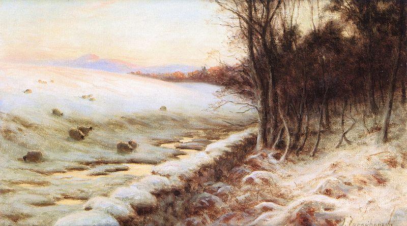 Joseph Farquharson - The Edge of the Wood