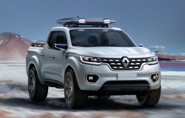 2017 Renault Alaskan Concept Specs And Release Date Pickup