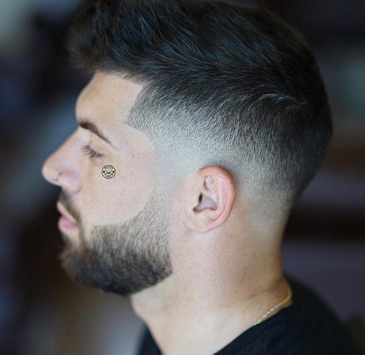 30 Cool Short Hairstyles for Men Summer 2020 - The Frisky #pompadourhair Pompadour Hair Style