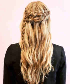 Nice water fall braid