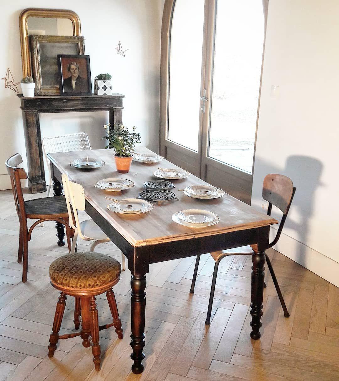 vendre table de ferme avec pieds tournés info en MP dim 12m12xl12cm ...