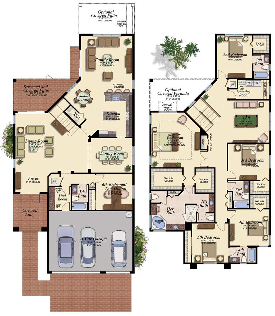 SHIRAZ/510 Floor Plan