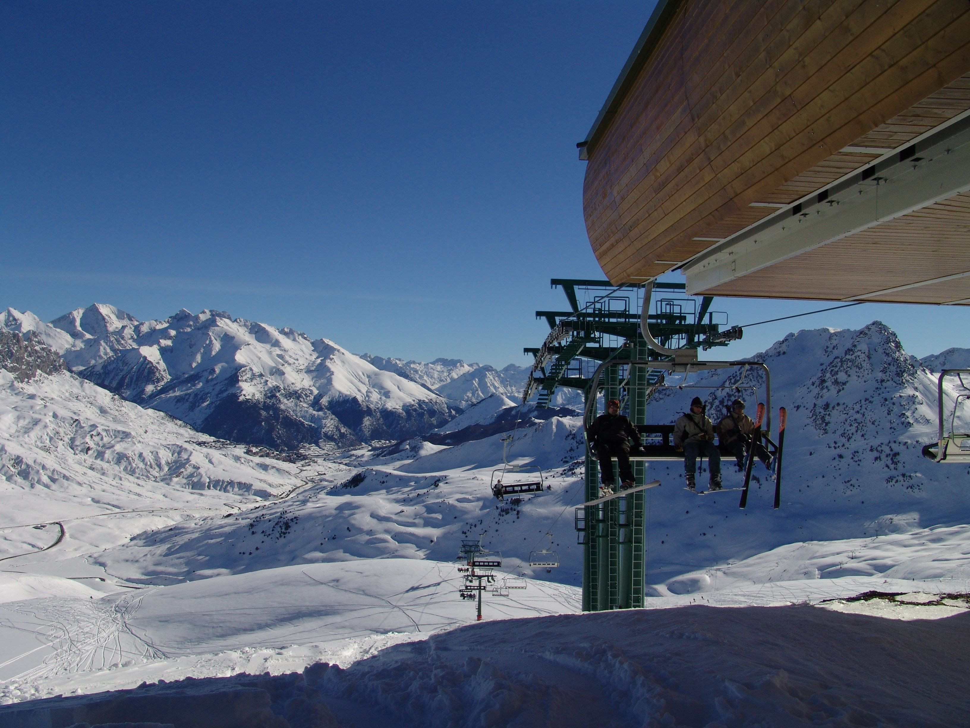 Esquí En Formigal Valle De Tena Pirineos Estaciones De Esqui Paisajes Fotos