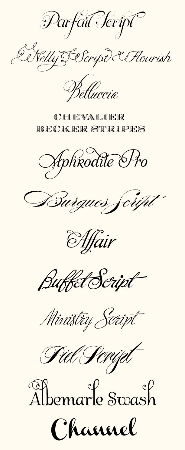 CT-Designs Calligraphy and Wedding Stationery: Top Wedding Fonts of 2012