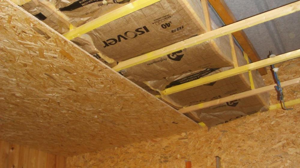 Isoler Un Toit De Garage Isolation Plafond Exterieur Meilleur Isolant Phonique Pour   Isolation ...
