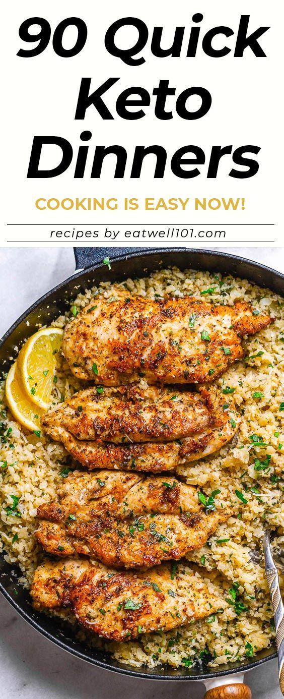 90 Easy Keto Dinner Recipes images