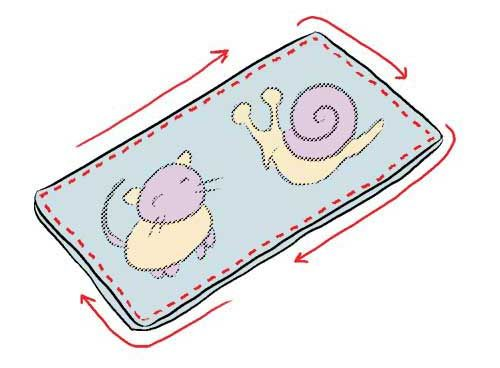 Que des tutoriaux: Couture: un livre pour bébé en tissu