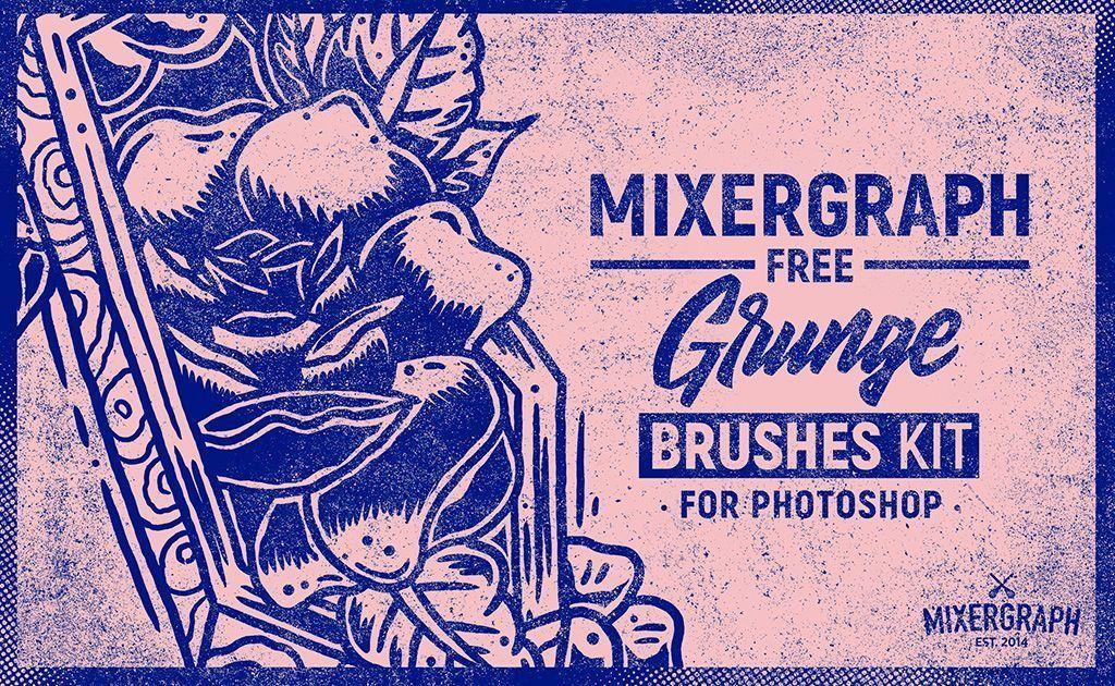 mixergraph-free-grunge-brushes-kit | Recursos Arquitectura ...