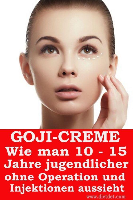 Goji Cream ist eine fokussierte Creme mit Anti-Aging-Häusern. GOJI CREAM HENDEL'S GARDEN REVITALISIE...