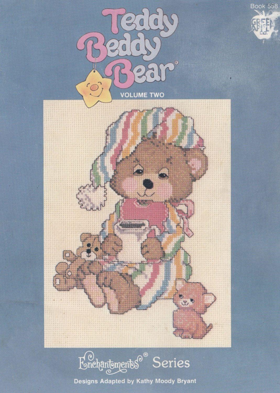 Teddy Beddy Bear Vol Two Green Apple Co. by LucyGooseyDolls