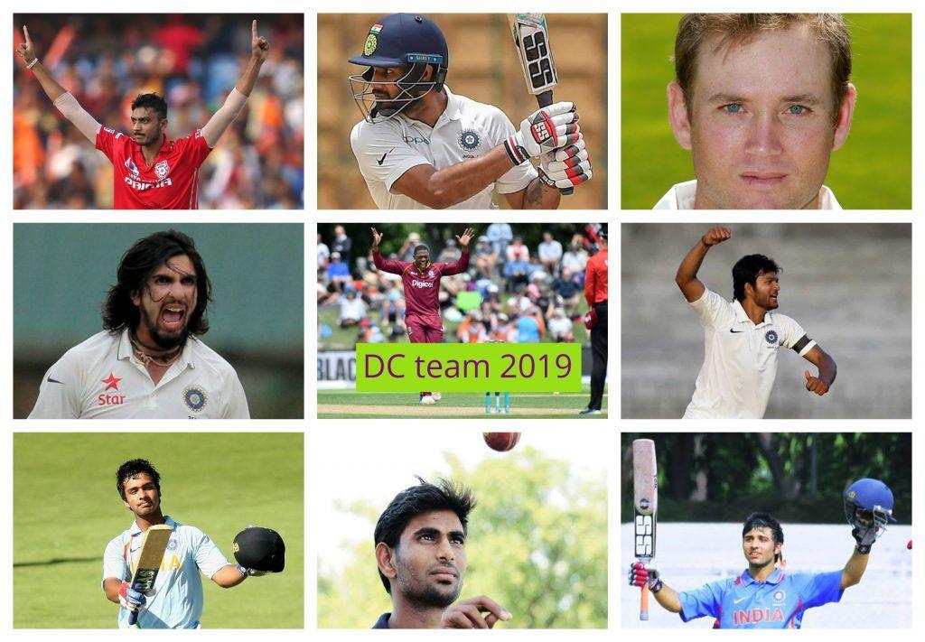 Delhi Daredevils Delhi Capitals Team Ipl 2019 With Images Cricket Match Teams Daredevil