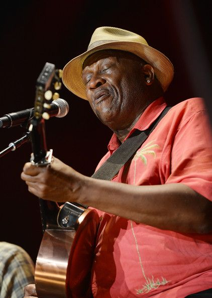 Taj Mahal performs on stage during the 2013 Crossroads Guitar Festival at Madison Square Garden on April 13, 2013 in New York City.